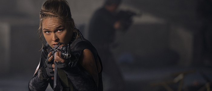 ronda rousey in expendables 3 movie 2015