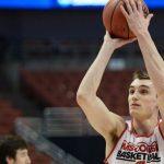 sam dekker shooting bare basketball loads into college men 2015 images