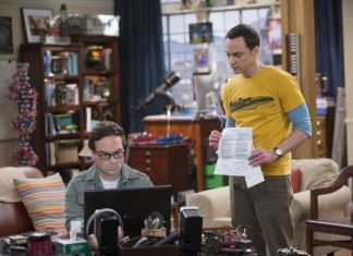 sheldon tells leonard about magazine on big bang theory 2015