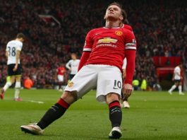 spurs lose to manchester united wayne rooney bulge falling 2015