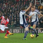stoke city loses to west brom premier league soccer 2015
