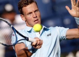 tomas berdych beats gael monfils at 2015 miami open masters