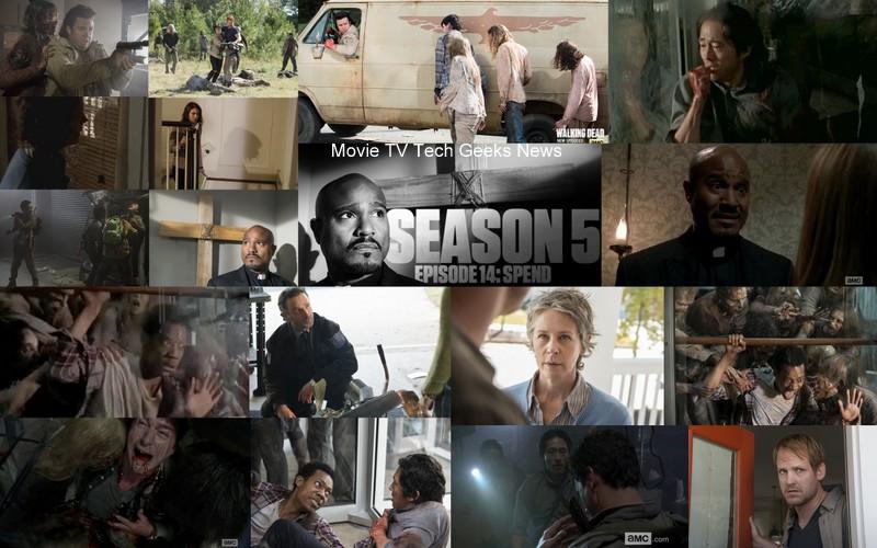walking dead season 5 ep 14 spend images eugene carol rick 2015