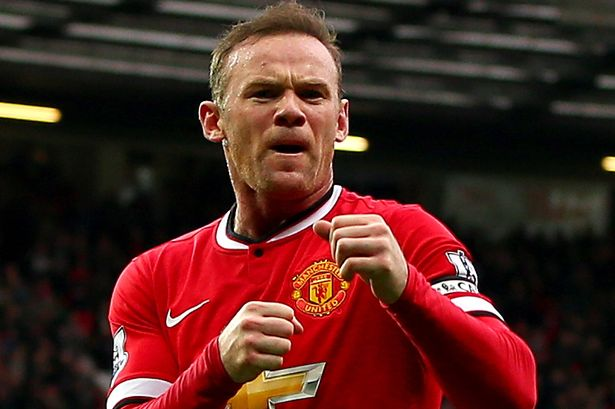 wayne rooney boxing celebration premier league 2015