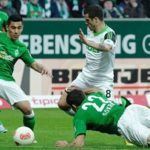 werder breman vs wolfsburg soccer 2015 images