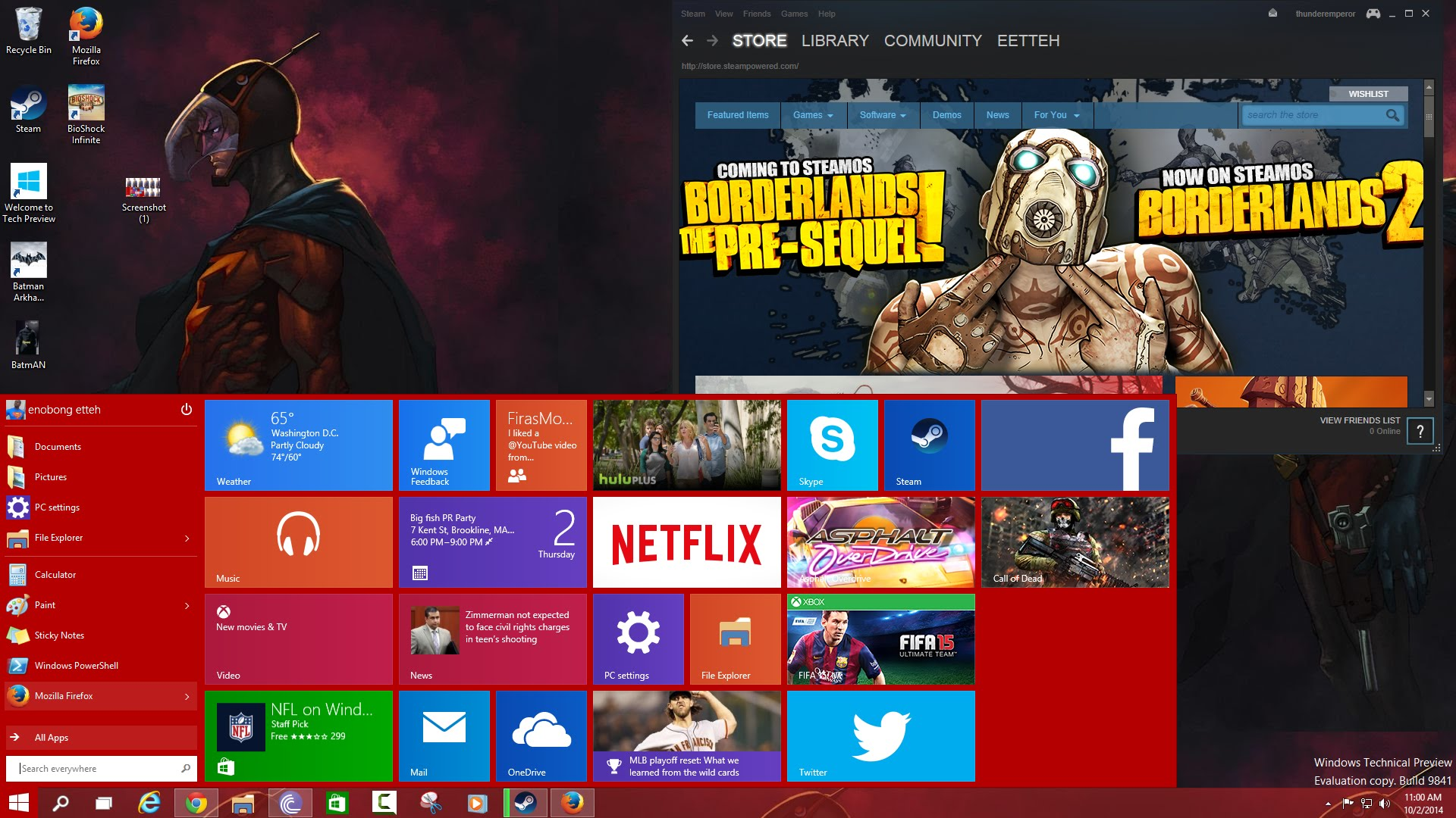 what windows 10 will bring to gaming movie tv tech geeks. Black Bedroom Furniture Sets. Home Design Ideas