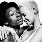 wiz khalifa making nice with amber rose for son 2015 gossip
