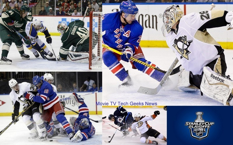 2015 nhl stanley cup playoffs rangers penguins mn wild images