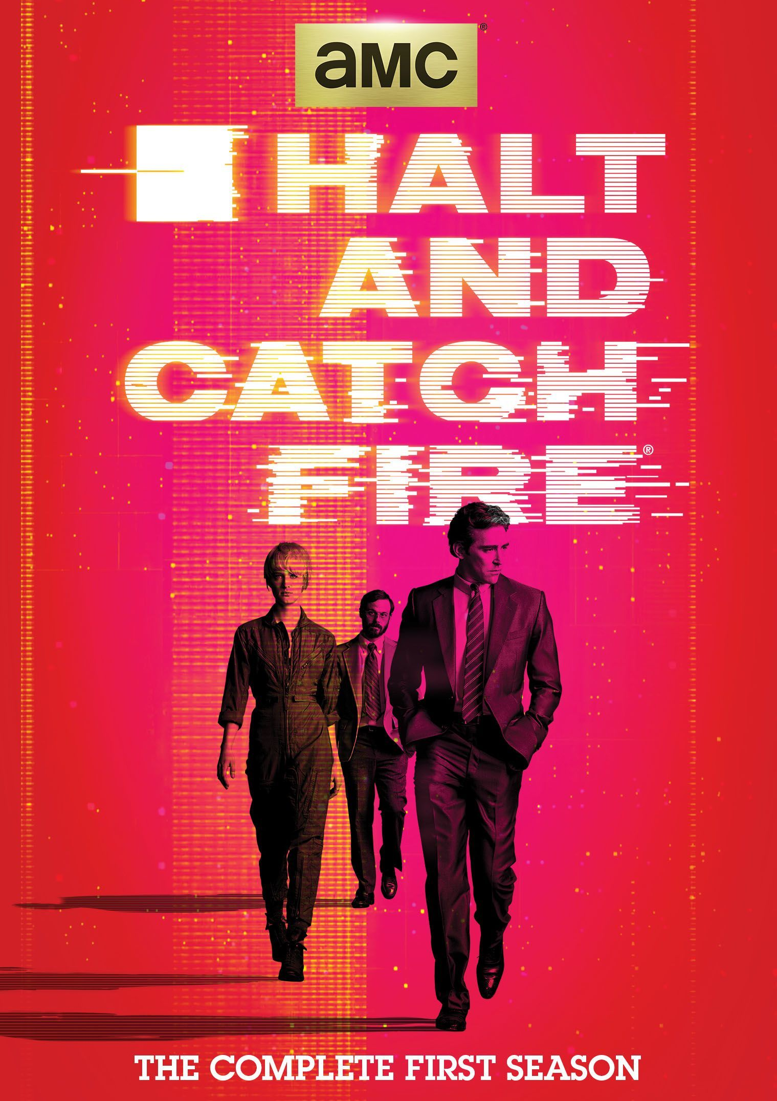 Halt & Catch Fire dvd blu-ray box cover 2015