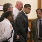 aaron hernandez leaving court after guilty verdict 2015