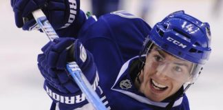 alex burrows out of play for flames stanley cup playoffs 2015