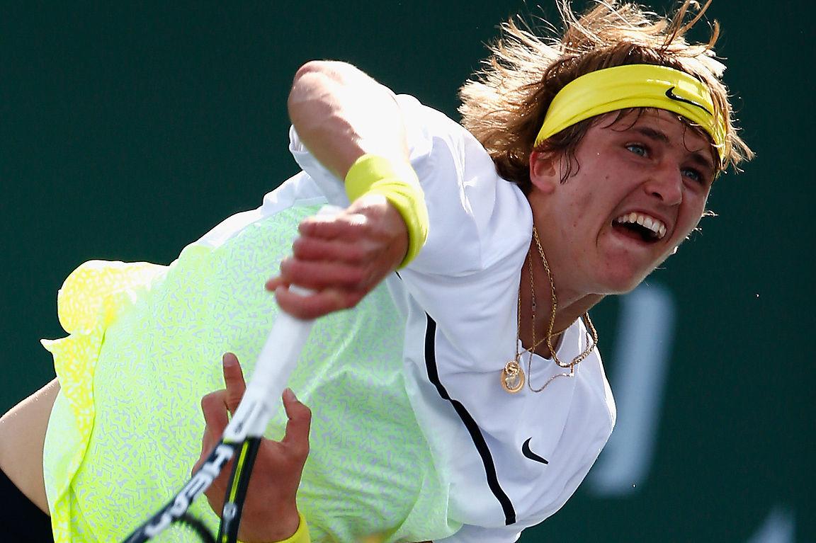 alexander zverev rising tennis stars series images 2015