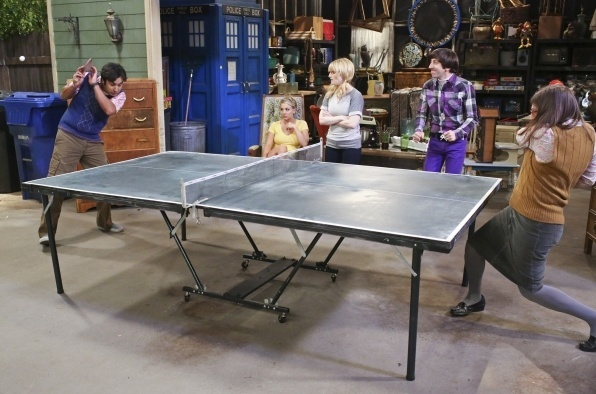 amy slams ping pong at raj on big bang theory 2015