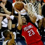 anthony davis landing another for new orleans pelicans 205