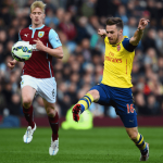 arsenal beats burnley premier league 2015