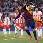 barcelona beats almeria la liga 2015