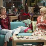 bernadette acting with penny on big bang theory ep 821 20154