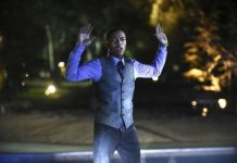 black guy hands up bulge for csi cyber 2015 images
