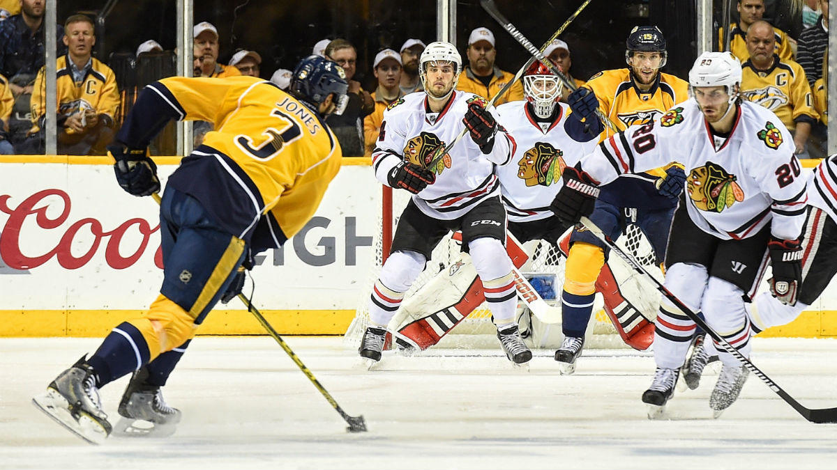 blackhawks beat predators for stanley cup playoffs 2015