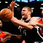 brooklyn nets beat off atlanta hawks nba 2015