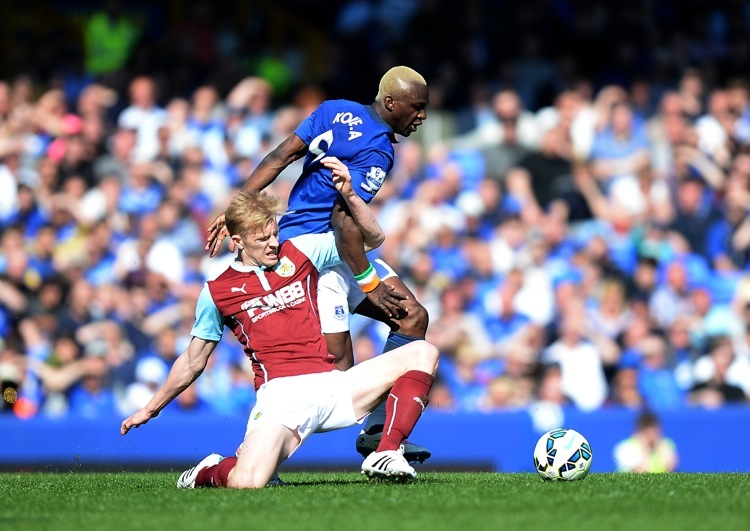 burnley loses to everton premier league soccer 2015