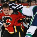 canucks beat flames stanley cup playoffs 2015