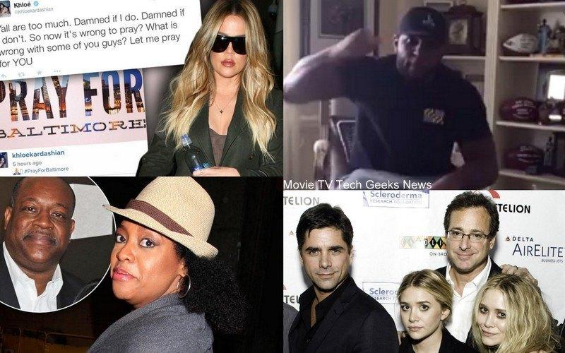 celebrity gossip khloe kardashian john stamos ray lews sherri shepherd 2015 images
