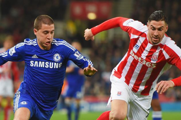 chelsea beats stoke city premier league soccer 2015