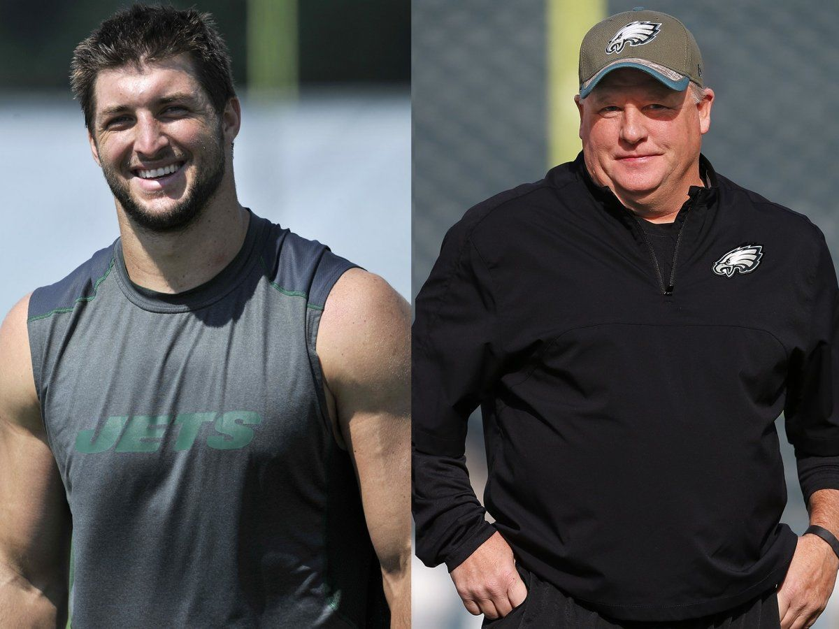 chip kellys crazy genius for philadelphia eagles with tim tebow