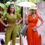 claudia jordan with cynthia baily real housewives of atlanta manilla 2015 images