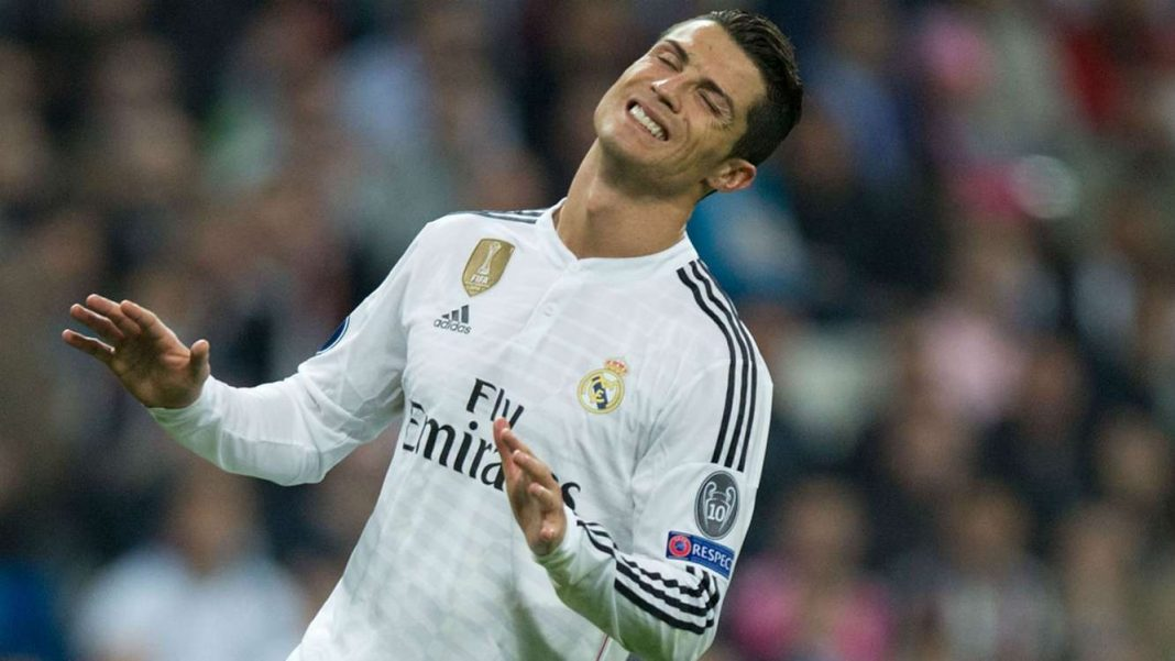 cristiano ronaldo scores for real madrid la liga 2015