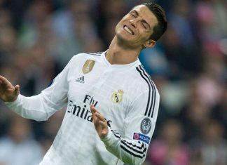cristiano ronaldo scores for real madrid la liga 2015