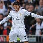 cristiano ronaldo wrongly booked for bulge simulation la liga 2015
