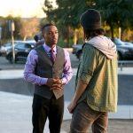 csi cyber black guy talking to friend hacker justice 2015 fire code