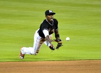 dee gordon tops marlins national league mlb 2015
