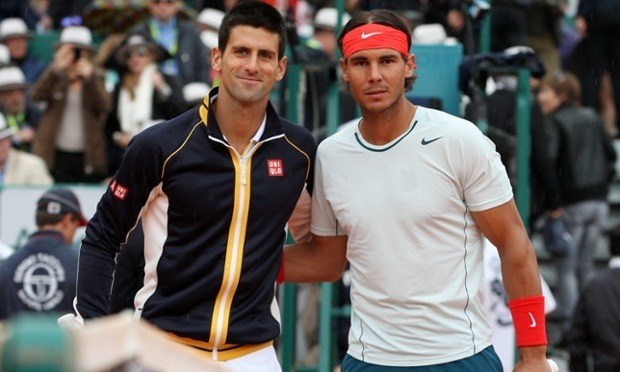 friendly rivals rafael nadal with novak djokovic