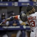 hanley ramirez hot top man for red sox american league mlb 2015