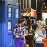 howard dr who box for bernadette on big bang theory 2015