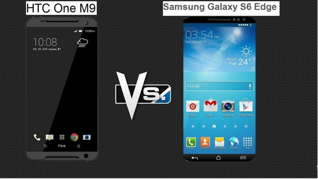 htc one m9 vs samsung galaxy s6 edge 2015