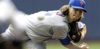 jacob deGrom hottest pitcher of mlb baseball 2015