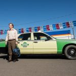 jimmy getting out of cab on better call saul marco 2015