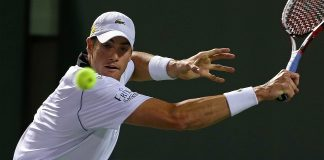 john isner beats kei nishikori for 2015 miami open semi finals