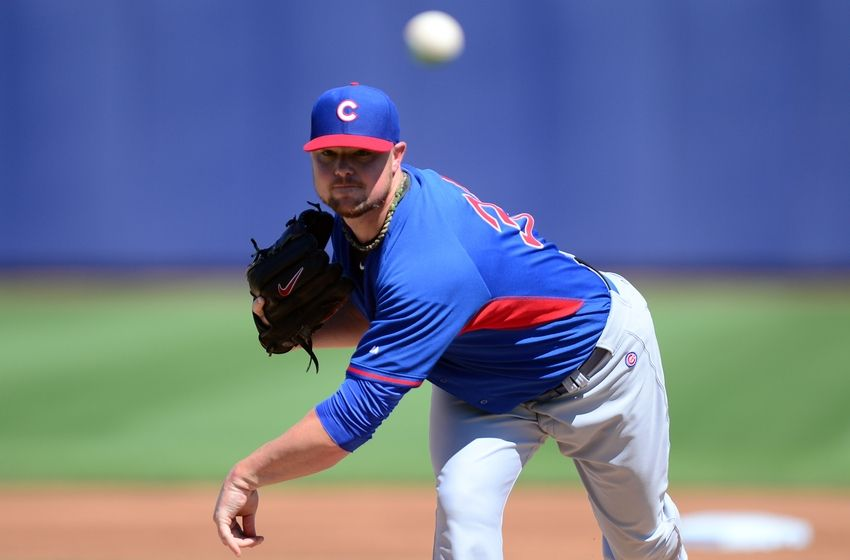 jon lester opening for chicago cubs 2015