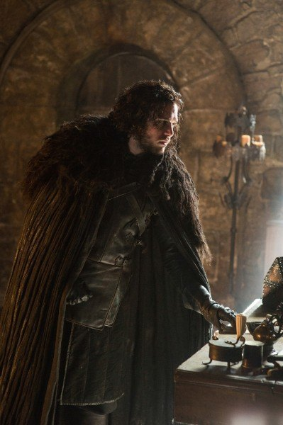 jon snow angry on game of thrones ep 502 black white images 2015