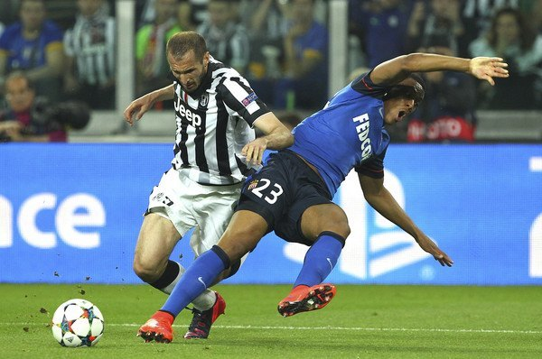 juventus vs monaco champions league 2015