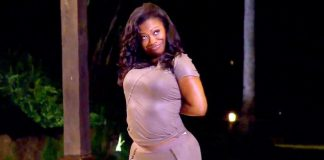 kandi looking like a tellatubby on rhoa 2015