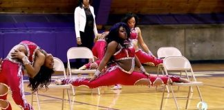 kayla chair split dancing dolls vs purple diamonds 2015