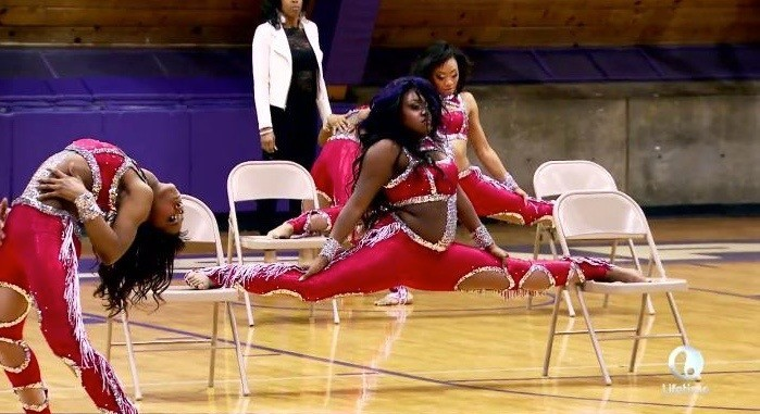 kayla chair split dancing dolls vs purple diamonds 2015