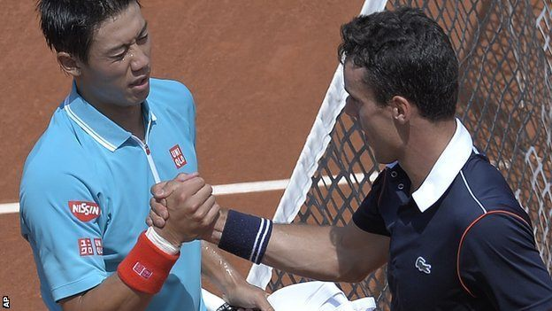 kei nishikori and david ferrer move on at barcelona open 2015