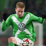 kevin du bruyne gets wolfsburg win bundesliga 2015 soccer